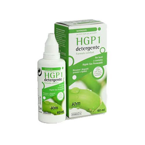 HGP1 detergente 60 ml è una soluzione per lenti a contatto rigide gas permebili che disinfetta e rimuove i depositi proteici e lipidici del film lacrimale e le particelle depositate sulle lenti.