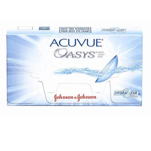 Le Acuvue Oasys, confezione da 6 lenti, sono lenti a contatto a ricambio quindicinale in Silicone Idrogel con un efficace filtro UV