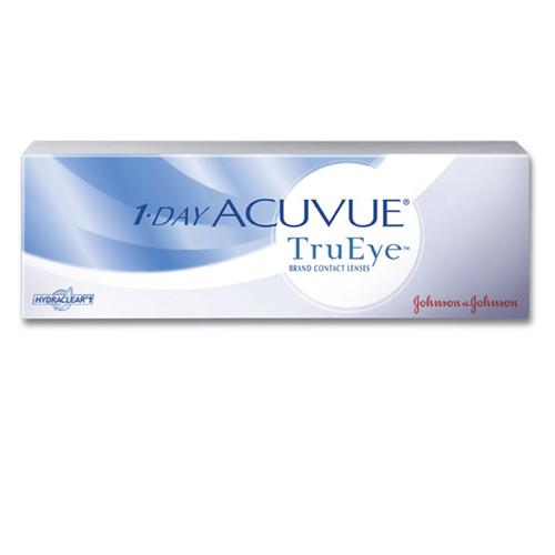 Le 1 Day Acuvue TruEye, confezione da 30, sono lenti a contatto giornaliere in Silicone Idrogel che rispondono a tutti i requisiti che vengono richiesti ad una lente di ultimissima generazione. Le lac TruEye permettono uno straordinario apporto di ossigeno unito a un efficente filtro UV.
