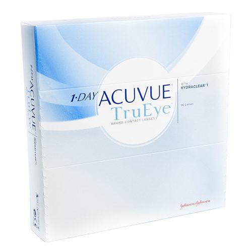 Le 1 Day Acuvue TruEye, confezione da 90, sono lenti a contatto giornaliere in Silicone Idrogel che rispondono a tutti i requisiti che vengono richiesti ad una lente di ultimissima generazione. Le lac TruEye permettono uno straordinario apporto di ossigeno unito a un efficente filtro UV.