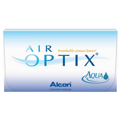 Le lenti mensili Air Optix Aqua hanno un'elevatissima permeabilità all'ossigeno, grazie al loro materiale di costruzione: il silicone idrogel. Queste lenti prodotte dalla Alcon, assicurano un elevato comfort per molte ore