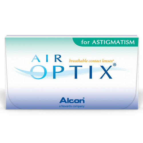 Le lenti a contatto Air Optix for Astigmatism sono lentine per la correzione dell'astigmatismo. Sono prodotte in Silicone4edx Idrogel, un materiale che assicura elevatissima permeabilità all'ossigeno, per occhi sani anche dopo molte ore di porta. Air Optix for Astigmatism sono in vendita in confezioni da 6 lenti.
