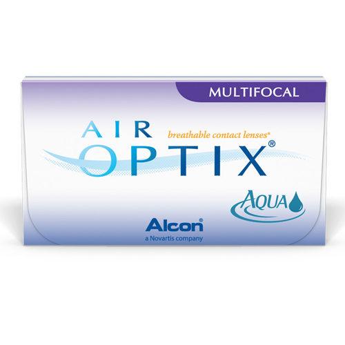 Le Air Optix Aqua Multifocal sono lenti a contatto in silicone idrogel per la presbiopia, che donano una sensazione di comfort anche a fine giornata.