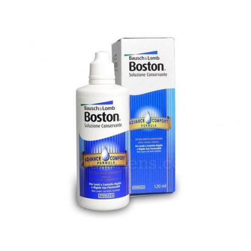 Boston Advance Conservante protegge le lenti a contatto prima dell'inserimento, rimuove le particelle di pulviscolo che possono causare irritazione e discomfort ed elimina microrganismi dannosi dalla superficie delle lenti a contatto rigide e gas permeabili.