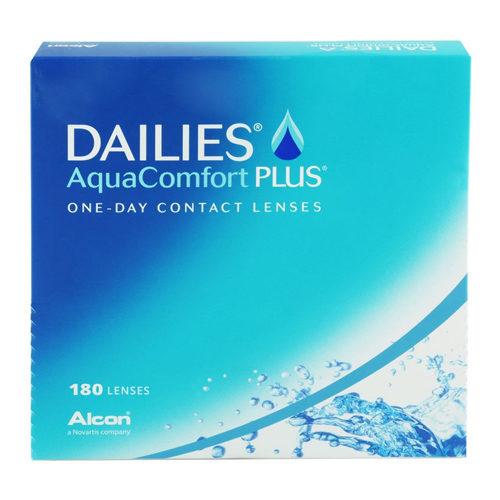 Dailies Aqua Comfort Plus 180 Lenti a contatto giornaliere