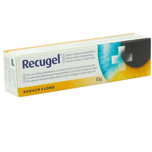 Recugel, grazie alla sua formulazione a base di dexpantenolo, protegge, lenisce e idrata la superficie oculare danneggiata quando i tuoi occhi hanno bisogno di un rapido sollievo.