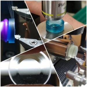 laboratorio costruzione lenti a contatto